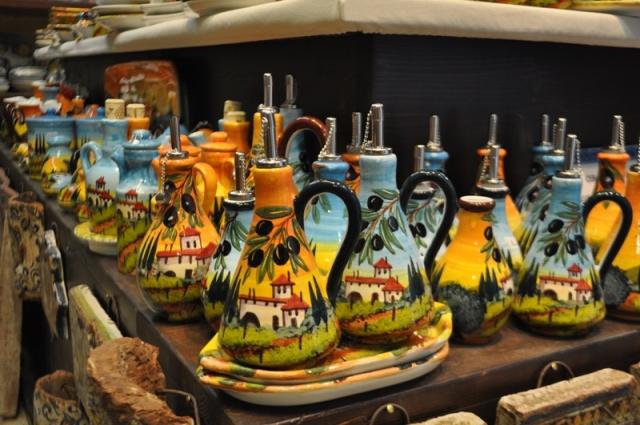 Ceramiche paesaggi